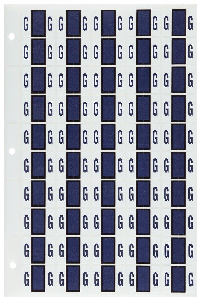 M Light Green 1 50 Labels//Sheet TAB Alphabetic Folder Label Sheet