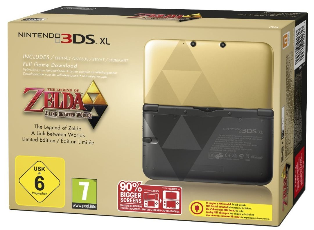 Nintendo 3DS XL - Zelda Edition