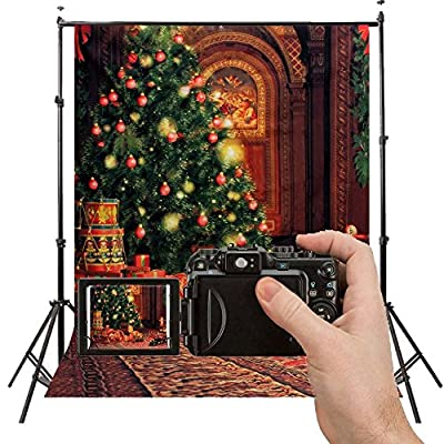 2-3 Business Days Delivery Grade AAAAA Cloth Merry Christmas Theme Wood floor Photo Studio Pictorial photography Backdrop Background Studio Prop Best For Christmas,Children,Newborn,Baby