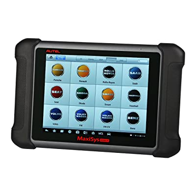 Autel Maxisys MS906BT is one of the best OBD2 scan tool that can be connected directly to your device using a USB cable