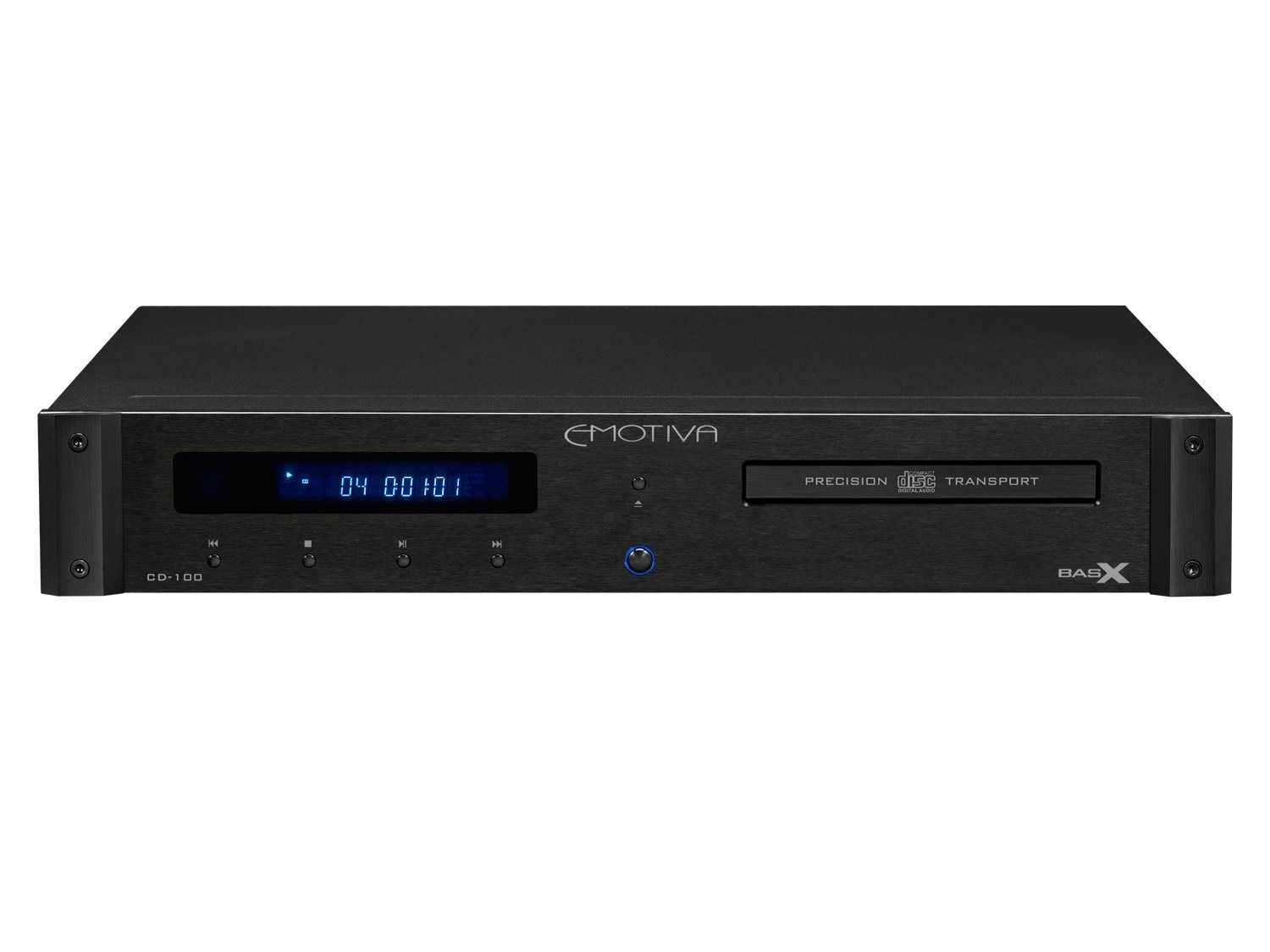 Emotiva Audio Precision Cd Player and Transport Home CD Player Black (CD-100)