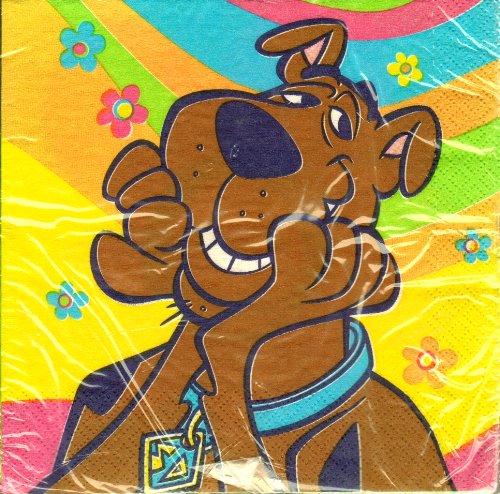 Scooby Doo Dinner Napkins 13