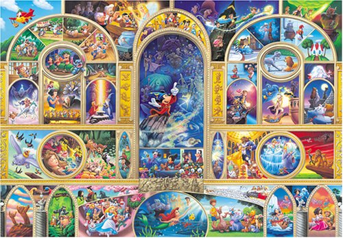 Tenyo Disney All Character Dream Jigsaw Puzzle (1000 Piece) (Donald Duck Puzzles 1000 Piece compare prices)