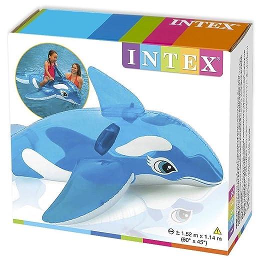 Intex Lil de ballena Batería de ion de litio de jinete sobre ...