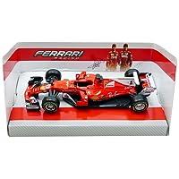 Bburago - Ferrari SF70-H F1 - Vettel - 2017 - Echelle 1/43, 36805V #5, Rouge
