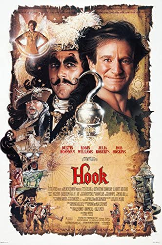 71273 Hook Dustin Hoffman Robin Williams Julia Roberts Wall Print POSTER Affiche