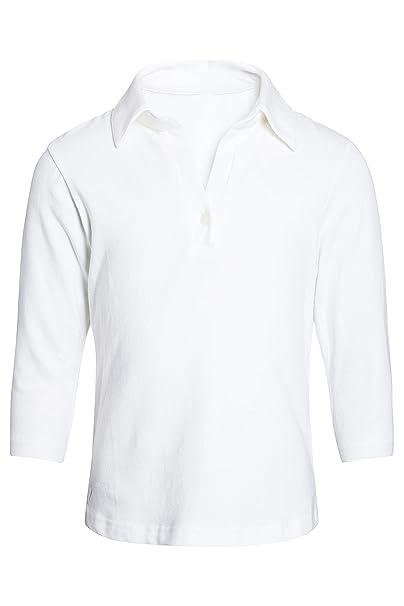 next Niña Júnior Top Camiseta Polo Camisa De Punto Manga 3/4 De ...
