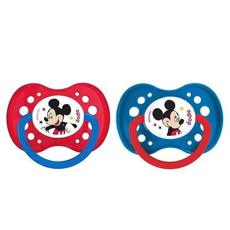 Dodie Chupete anatómico Duo Mickey A65 18 + Meses: Amazon.es: Bebé