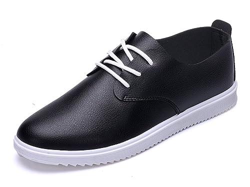 aisun Hombre Casual Transpirable Vestido y Punta Redonda Baja Tops Slip On Hombre Zapatillas Flats Zapatos de Skateboard: Amazon.es: Zapatos y complementos