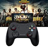 ETbotu Gamepad Wireless Bluetooth Remote Game Controller Joystick for PUBG IOS Android Mobile Phones(Without Bracket)