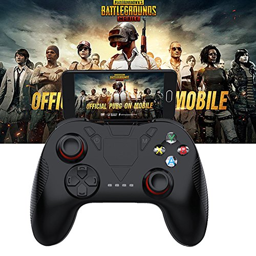Ocamo Gaming Controller Wireless Bluetooth Gamepad Remote Game Controller Joystick for PUBG iOS Android Mobile Phones(Without Bracket)