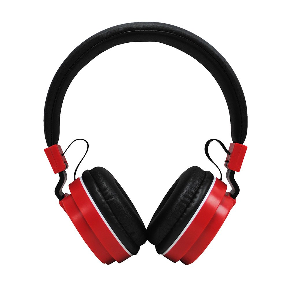 Borne Bluetooth Headset Foldable and adjustable Stereo On Ear Headband Headphones with Mic and for iPhone, Samsung, Most Smart phones, iPad, MP3 and other devices