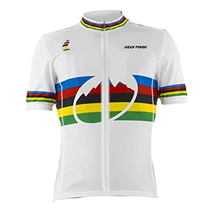 a9613ec18 Image Unavailable. Image not available for. Color  Uglyfrog 2016 New Mens  Outdoor Sports Cycle Short Sleeve Cycling Jersey ...