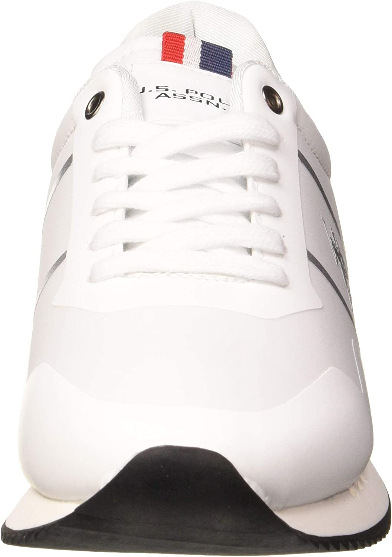 U.S.POLO ASSN. Ambra1, Chaussures de Gymnastique Femme Blanc Whi 001