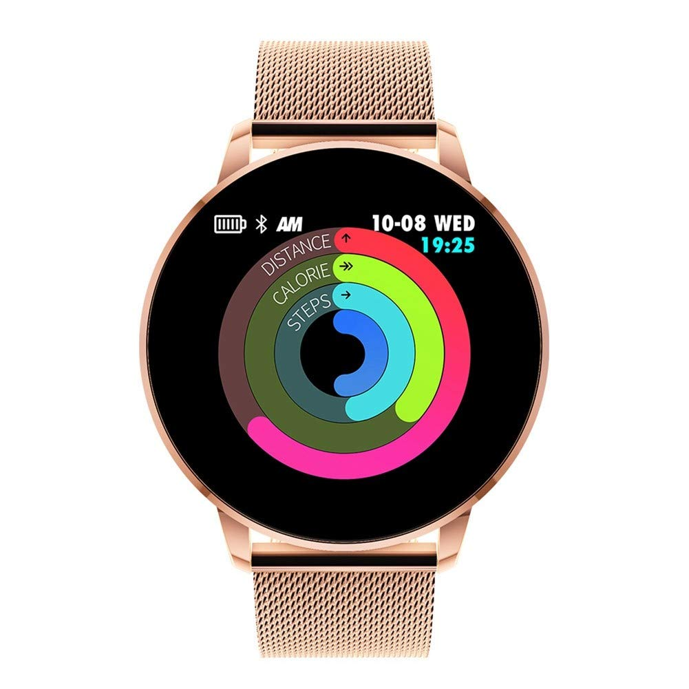 KDSFJIKUYB Fitness Tracker Q8 Avanzada Pantalla a Color de ...