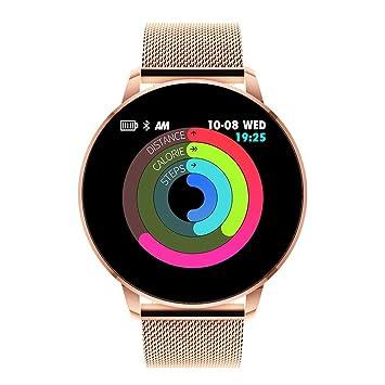 KDSFJIKUYB Fitness Tracker Q8 Avanzada Pantalla a Color de 1.3 ...