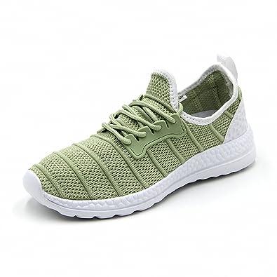 3d65734cb8 Weweya Womens Mens Running Shoes Outdoor Athletic Leisure Walking Sneakers