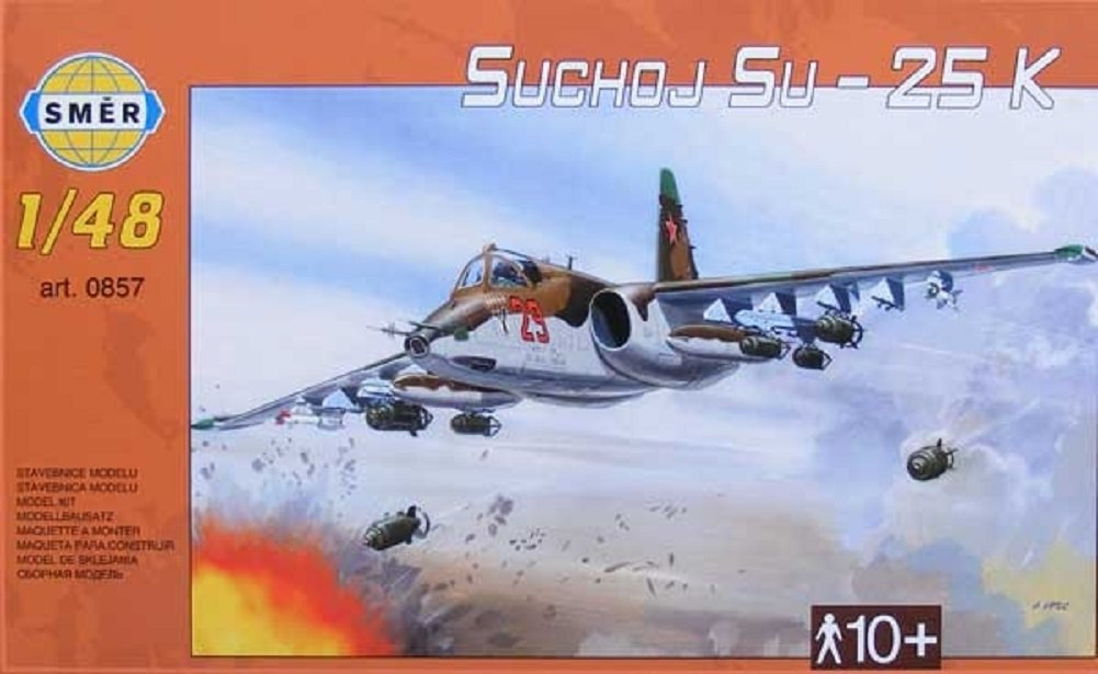 SMER Modellbau Kunststoff Modellbausatz Militär 1:48 Flugzeug Suchoj ...