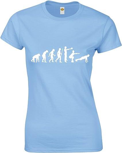 JLB Print Crossfit Spartan Helmet Fan Sport Gym T-Shirt Ajuste Qualite Superieure pour Femmes et Adolescents