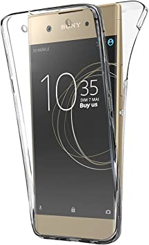 Buyus Funda Full Body Sony Xperia XA1 Ultra, Transparente Silicona ...