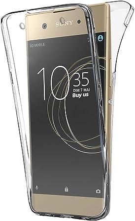 Housse de Protection pour t/él/éphone Fabrication fran/çaise LA COQUERIE Coque Sony XA1 Ultra Art Nouveau Tropical Silicone /à Motifs Coque de Smartphone Rigide