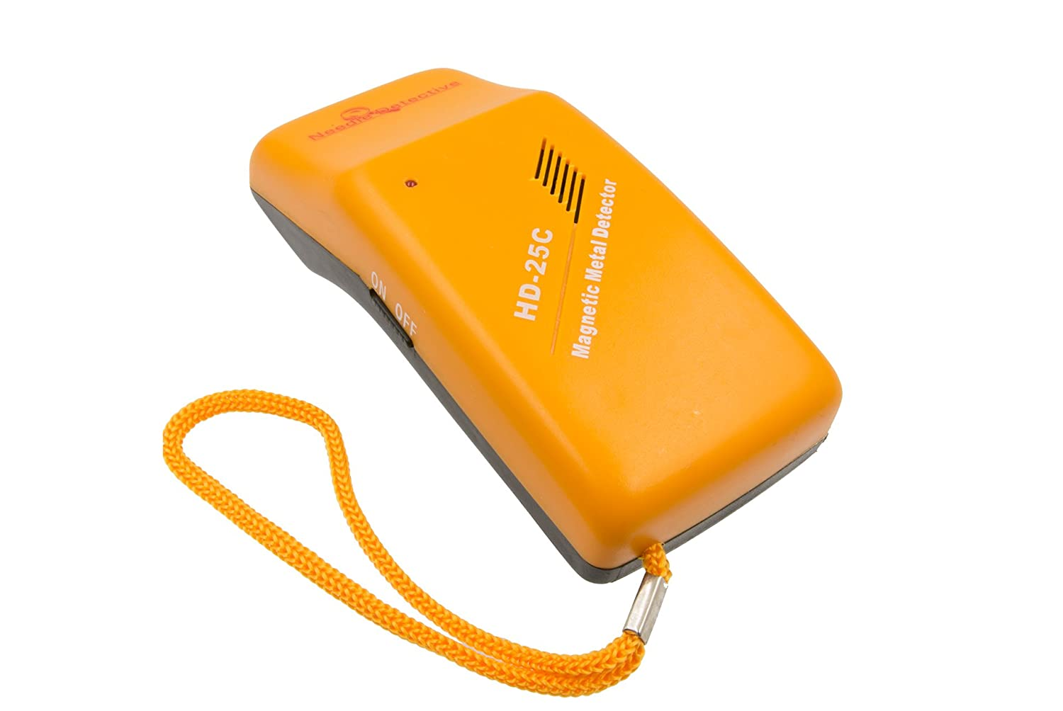 Needle Detective Handheld Needle Detector – Magnetic Needle, Staple, and Small Metal Object Detector, Mixed Metal Detector