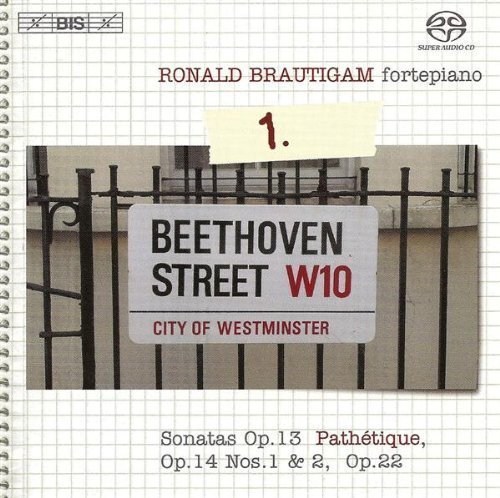 Beethoven: Sonatas Op 13 'Pathetique', Op 14 Nos 1 & 2, Op 22 (Complete Works for Solo Piano Vol 1) /Brautigam Hybrid SACD - DSD edition (2005) Audio CD by Unknown (0100-01-01?