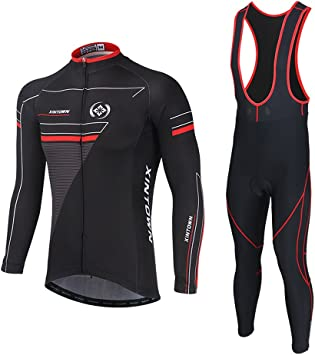 Soradoo Ciclismo Maillot Hombres Jersey Culote Pantalones Largos ...