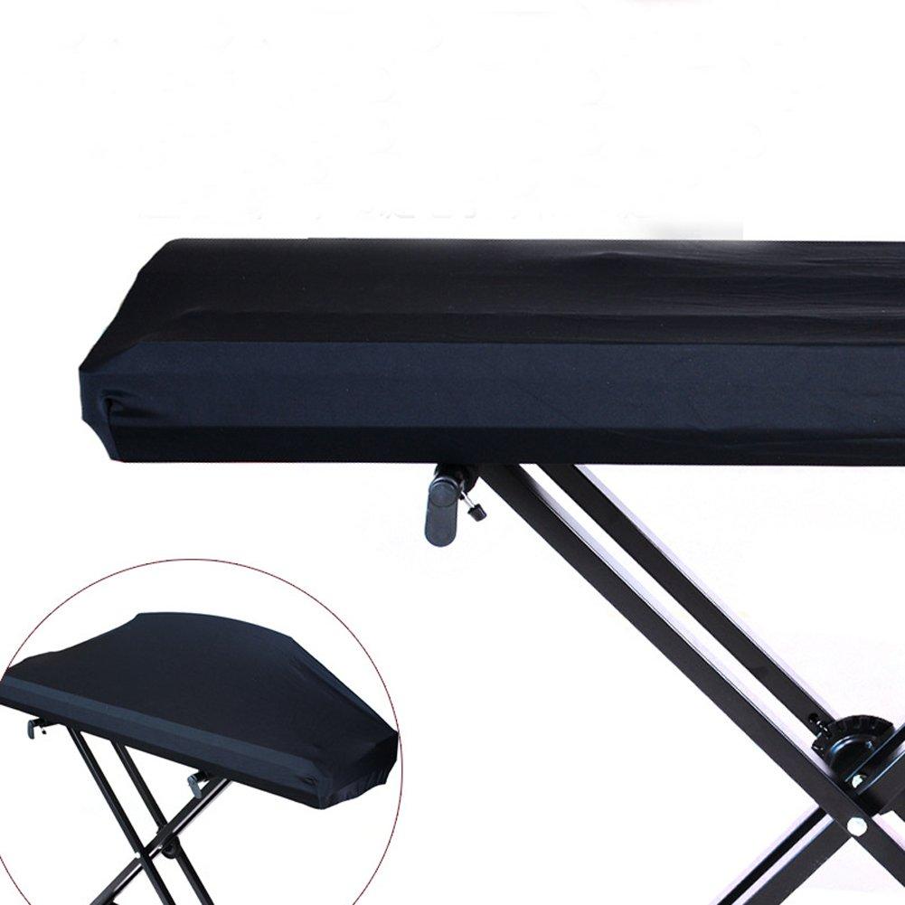 Funda para teclado electrónico de piano universal 61/73/76/88 con cierre elástico y resistente al polvo para 88 teclas, teclado de piano HCZ14-C HANSHI
