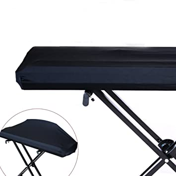 Funda para teclado electrónico de piano universal 61/73/76/88 con cierre elástico y resistente al polvo para 88 teclas, teclado de piano HCZ14-C