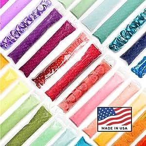 Bulk Freezer Zip Bags ● BPA Free Certified ● USA Made ● Kid Friendly Plastic Ziplock Bags for Popsicles, DIY Gogurt Ice Pops, Frozen Yogurt, Treat Bags & Unique Party Favors