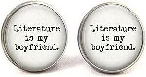 Pendientes para amante del libro, Literature is My