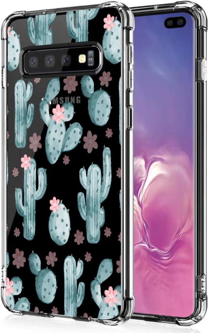 Huphant kompatibel mit Samsung Galaxy S10 Plus h/ülle Silikon Transparent d/ünn Anti-Gelb Samsung Galaxy S10 Plus Case Silikon handyh/ülle Mit Bumper Anti-Scratch Muster 16