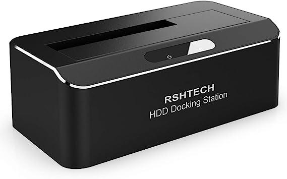 RSHTECH Hard Drive Enclosure USB 3.0 to SATA External Hard Drive Docking Station
