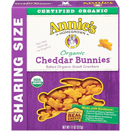 Annie's Homegrown Organic Cheddar Crackers, Bunnies, 11 Ounce by Annie'sHomegrown (Image #2)