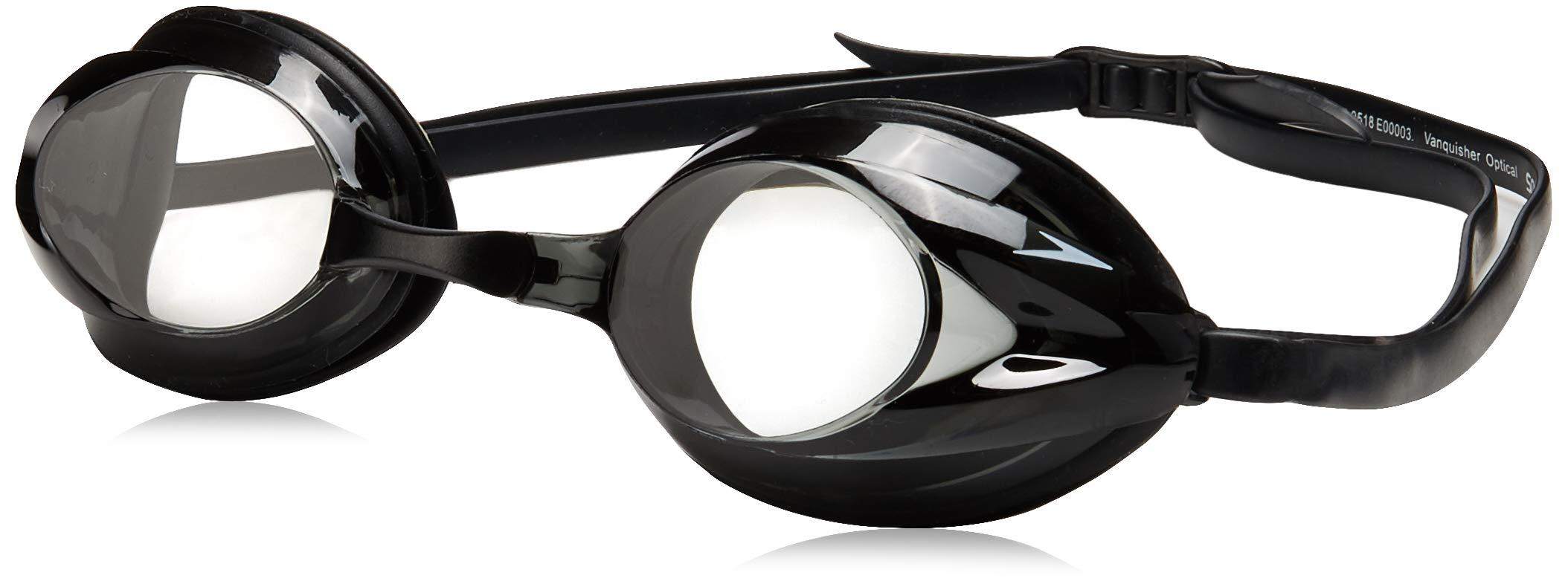 Speedo Vanquisher Optical Swim Goggle, Clear, -1.5