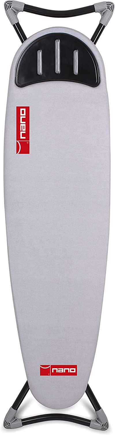 Gooder Home Nano Series Top Ironing Board, Sturdy and Deluxe Ironing Board (Gray)