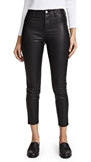 f52dd025e43688 [BLANKNYC] Blank Denim Women's The Principle Mid Rise Vegan Leather Skinny  Pants