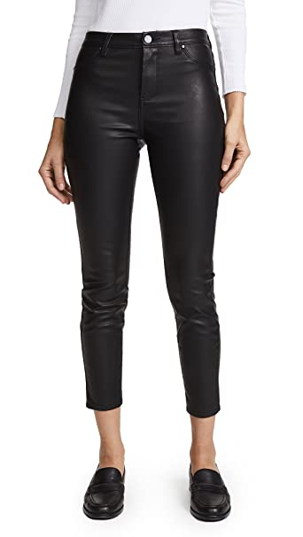 popular style 100% high quality clear and distinctive [BLANKNYC] Blank Denim Women's The Principle Mid Rise Vegan Leather Skinny  Pants