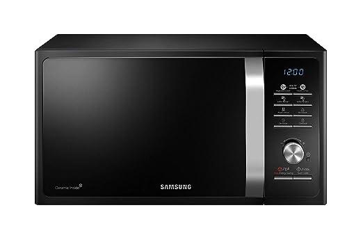 Renewed  Samsung 23 L Solo Microwave Oven  MS23F301TAK/TL, Black