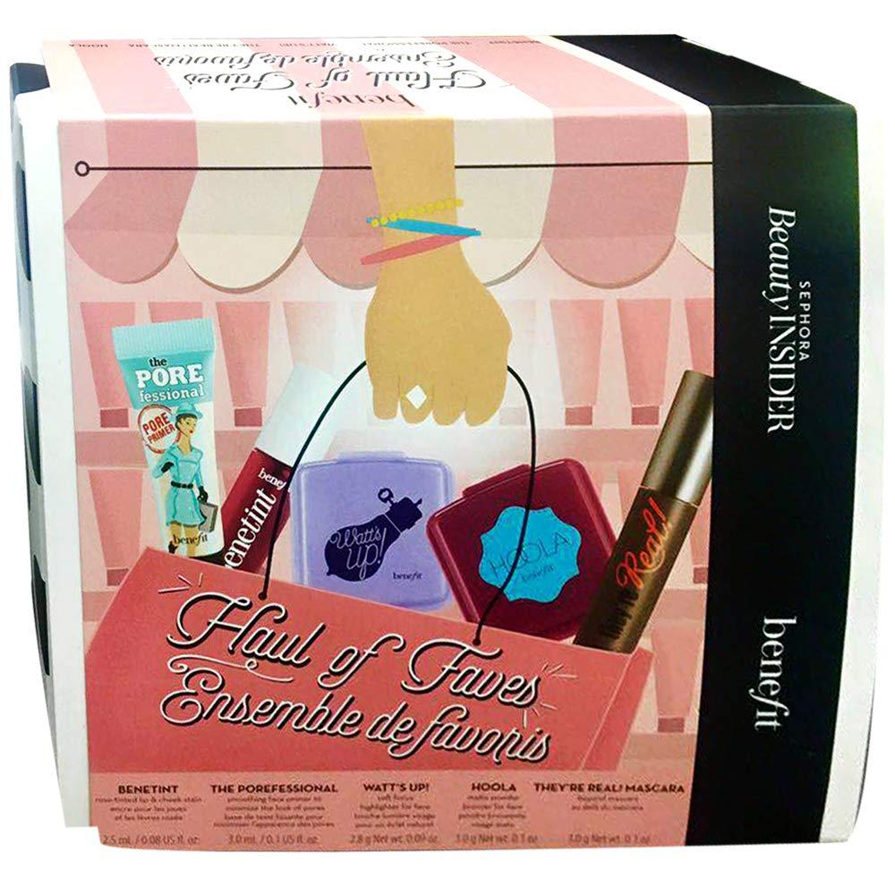 Sephora Beauty Insider Benefit Haul Of Faves Set (Stain, Bronzer, Mascara, Primer, Highlighter), 5-PC Set