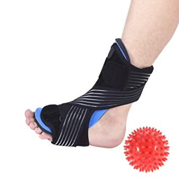 c7458cf3d2cb0 Amazon.com: Kingshalor Plantar Fasciitis Night Splint,Foot Drop Arch ...