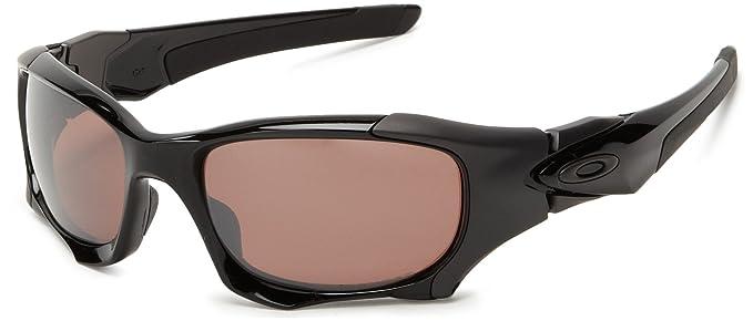 af477c4d0a Oakley Pit Boss 2 Polished Black with VR28 Iridium Polarized Lens  (OO9137-02)  Amazon.co.uk  Clothing