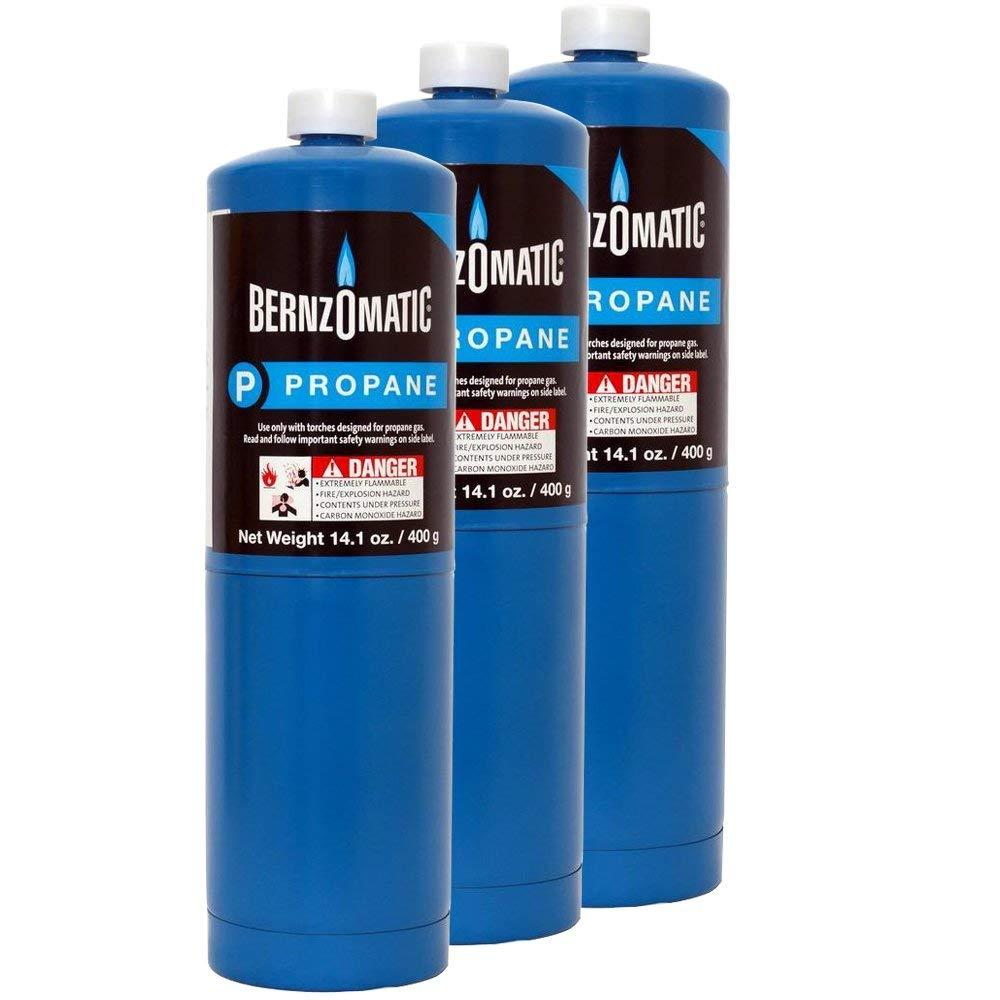Standard Propane Fuel Cylinder - Pack of 3