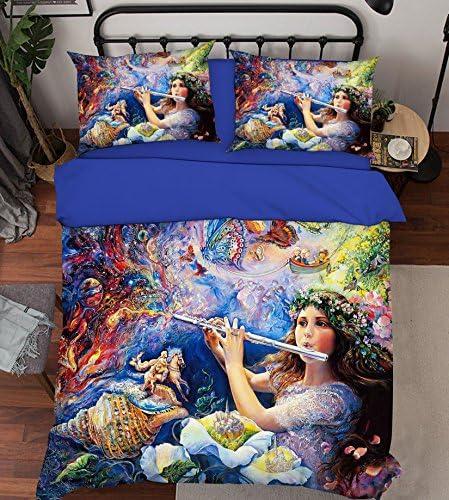 Peinture 3d Beauté Girl Fantasy 111Parure de lit Taie d'oreiller Parure de lit avec housse de couette simple Queen King   3d Photo Parure de lit, AJ papier peint britannique Sept