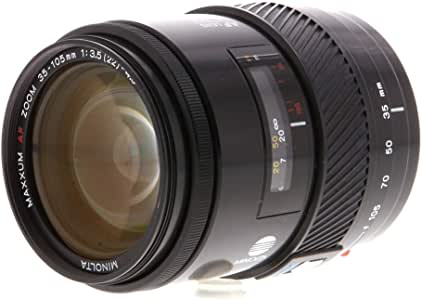 Minolta Maxxum AF 35-105mm f/3.5-4.5 Zoom Lens for Maxxum 3000, 5000, 7000, 9000 SLR Film Camera