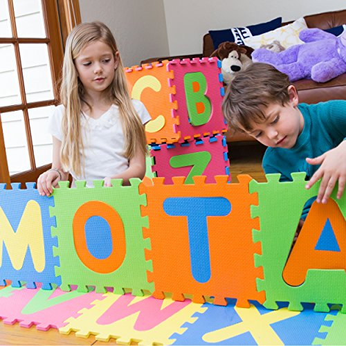Mota Alphabet Abc Mat Eva Foam Anti Slip Foam Jigsaw
