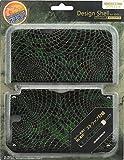 GAMETECH 3DS XL Hard Cover -Crocodile skin pattern- Green