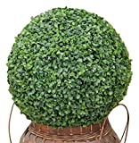 Geranium Street Floral BoxwoodBall 19'' 1PC Artificial Boxwood Uv Ball