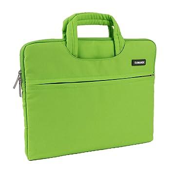 Amazon.com: oumande funda para portátil bolsa 14 inch lona ...